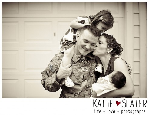 To be loved | CT Military Family Photographer