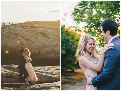 Marty + Mel | Newport, RI Engagement Session